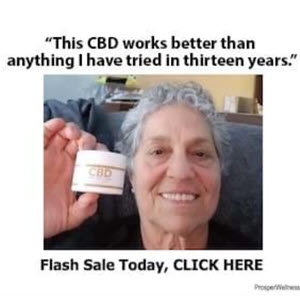 CBD Pain Freeze Cream